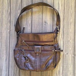 Rosetti bronze/copper purse